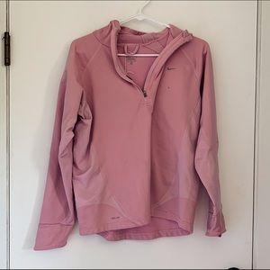Nike Pink Dri-Fit Hoodie
